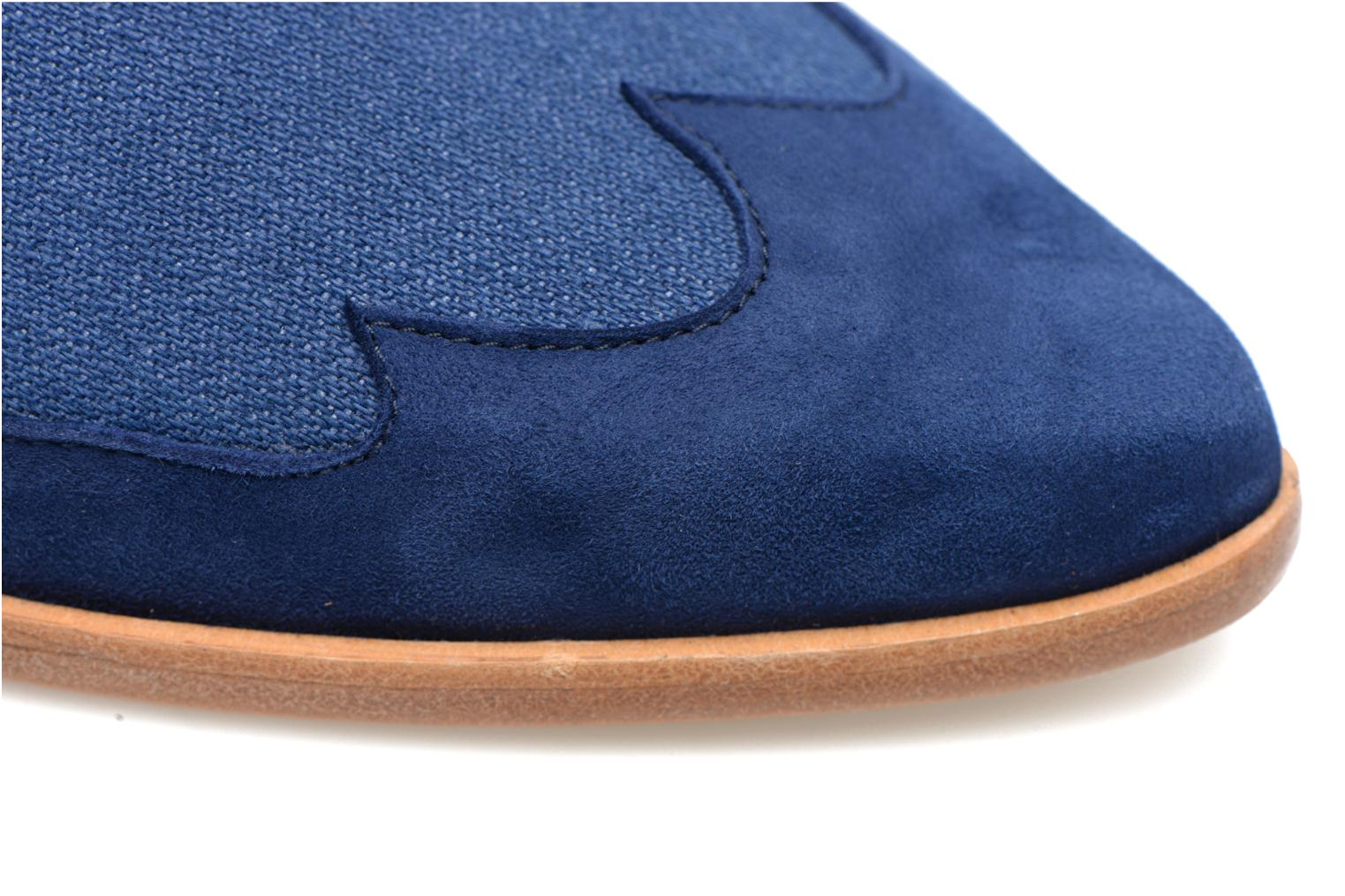 Loafers Made by SARENZA Seven Tease #1 Blue view from the left