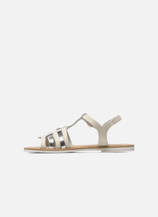 Sandales et nu-pieds I Love Shoes Dobrides Blanc vue face