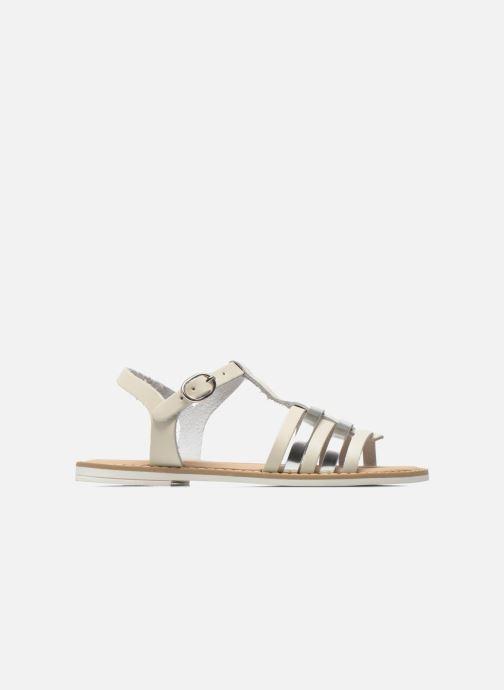 Sandales et nu-pieds I Love Shoes Dobrides Blanc vue derrière