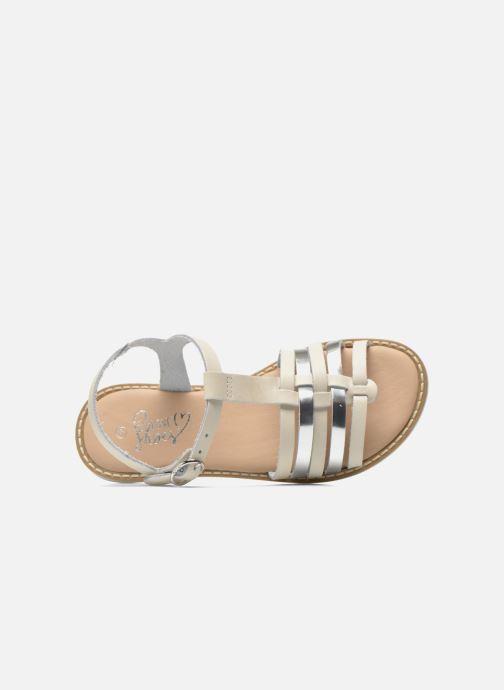 Sandales et nu-pieds I Love Shoes Dobrides Blanc vue gauche