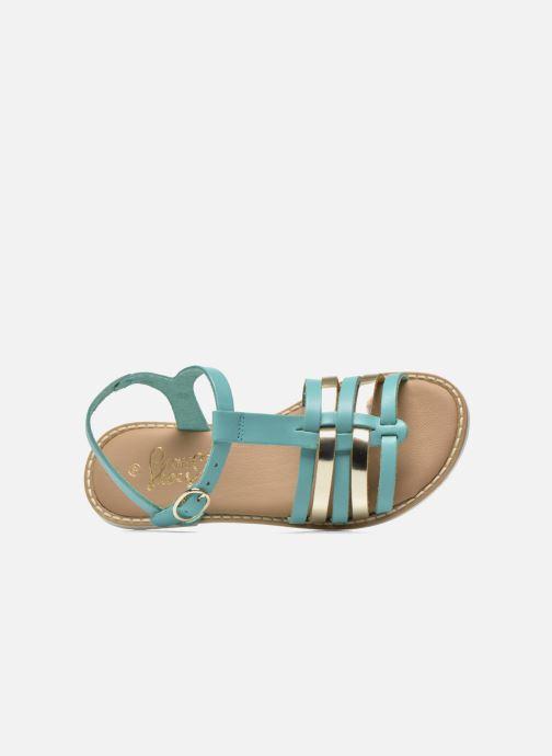 Sandales et nu-pieds I Love Shoes Dobrides Bleu vue gauche