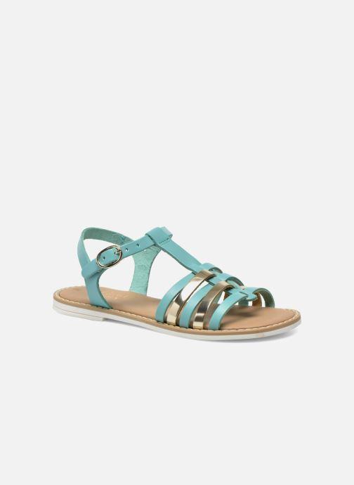 Sandales et nu-pieds I Love Shoes Dobrides Bleu vue détail/paire