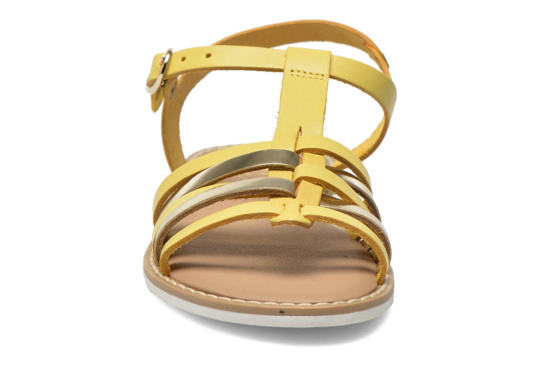 Sandalias I Love Shoes Dobrides Amarillo vista del modelo
