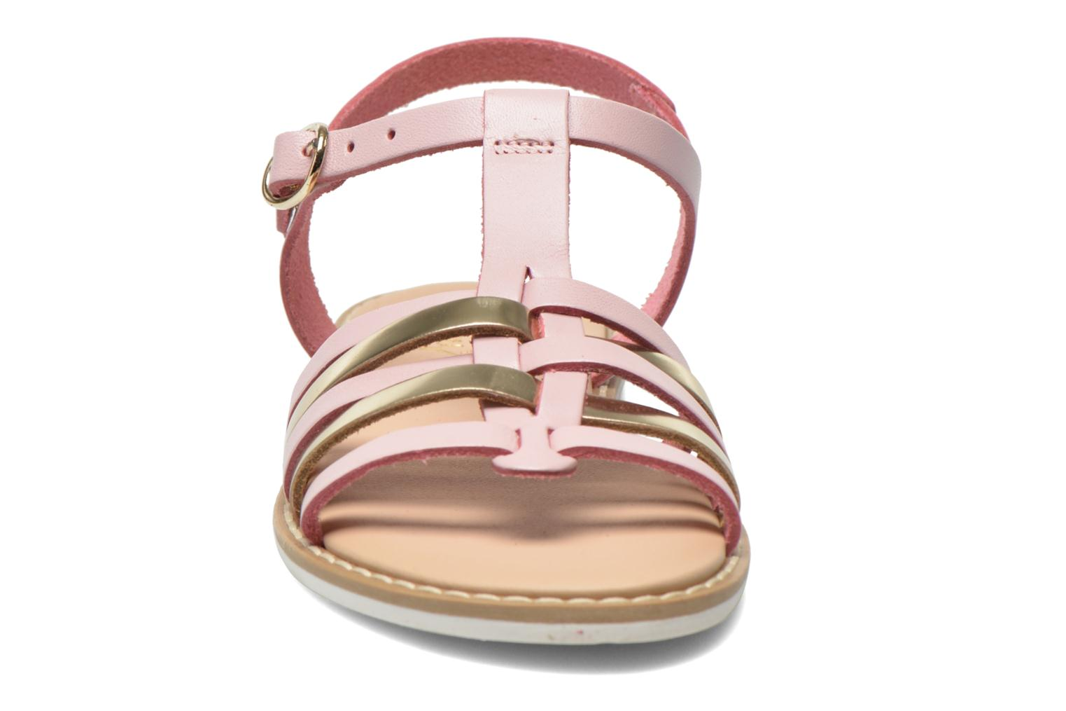 Sandals I Love Shoes Dobrides Pink model view