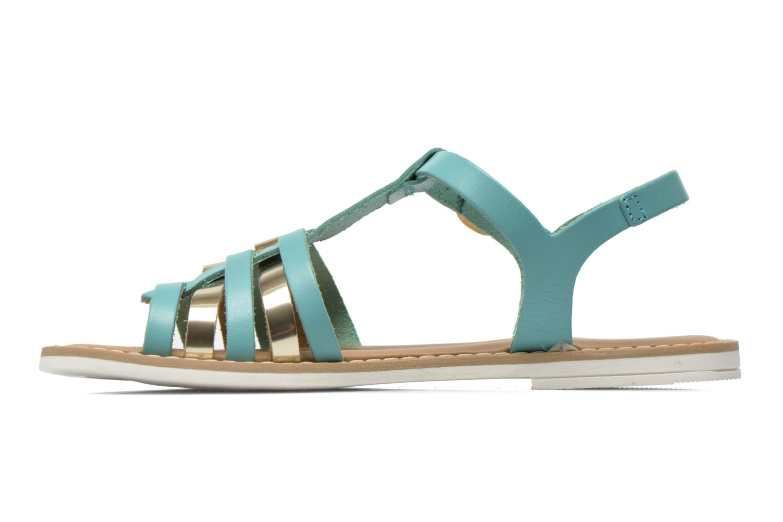 Sandales et nu-pieds I Love Shoes Dobrides Bleu vue face