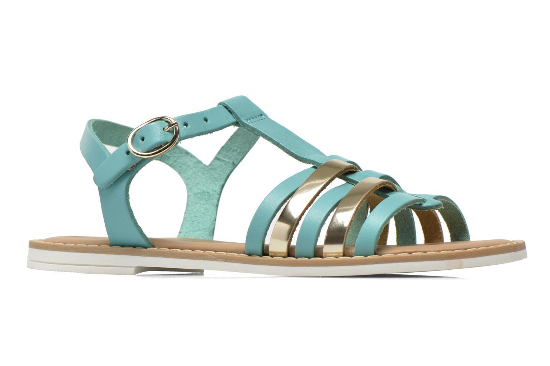 Sandalias I Love Shoes Dobrides Azul vistra trasera