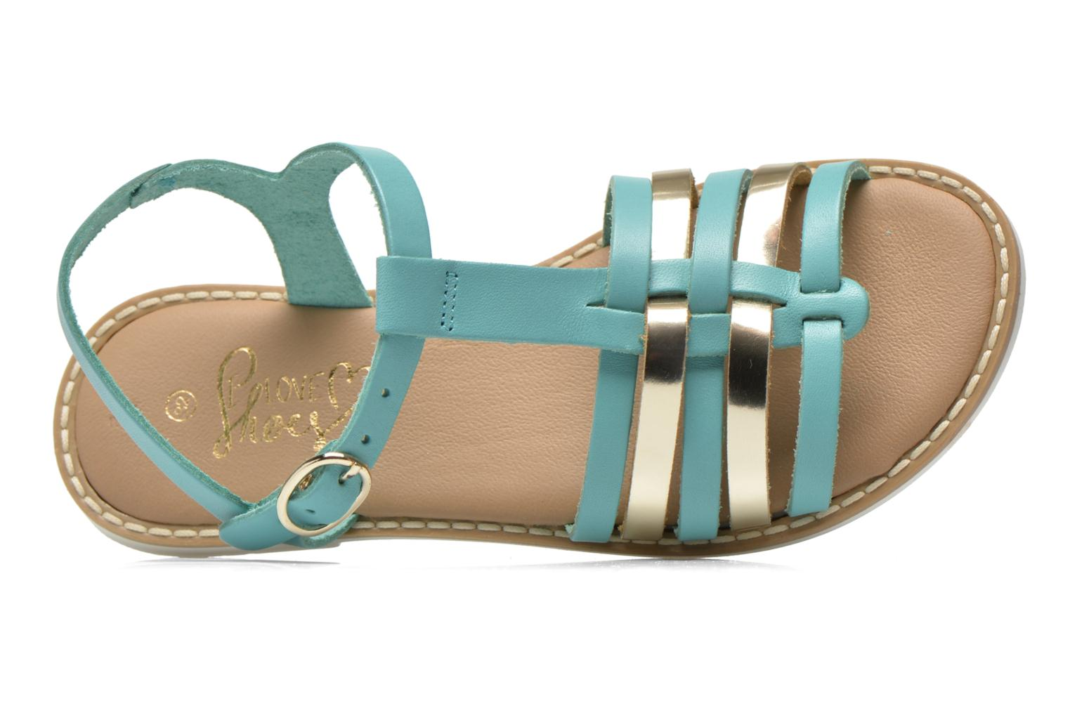 Sandalen I Love Shoes Dobrides Blauw links