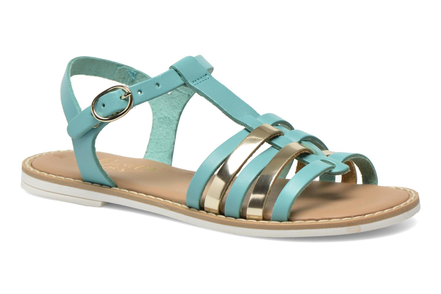 Sandalen I Love Shoes Dobrides Blauw detail