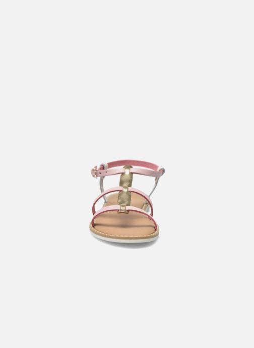 Sandales et nu-pieds I Love Shoes Dolsa Rose vue portées chaussures