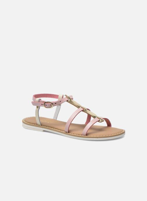 Sandales et nu-pieds I Love Shoes Dolsa Rose vue détail/paire