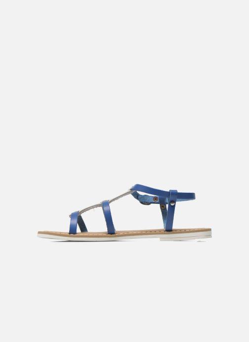 Sandales et nu-pieds I Love Shoes Dolsa Bleu vue face