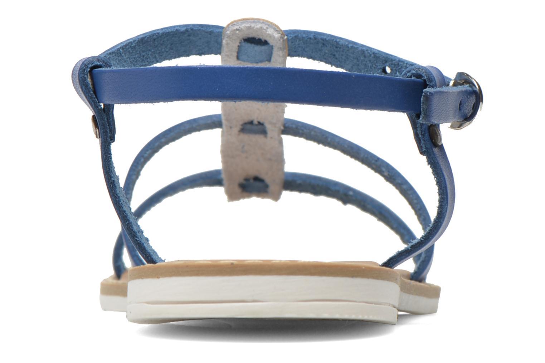 Sandales et nu-pieds I Love Shoes Dolsa Bleu vue droite
