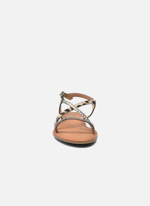 Sandals Les Tropéziennes par M Belarbi Horse Silver model view
