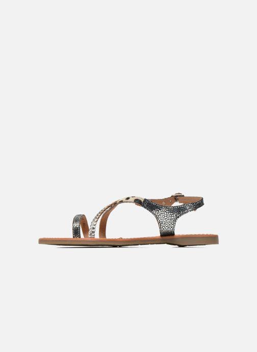 Sandals Les Tropéziennes par M Belarbi Horse Silver front view