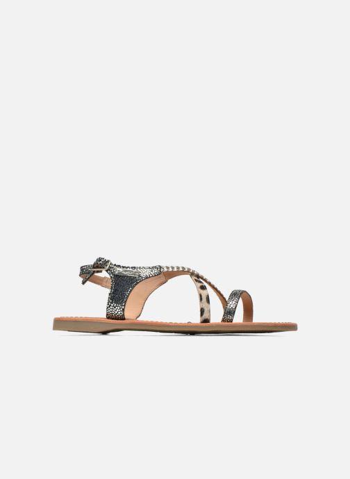 Sandals Les Tropéziennes par M Belarbi Horse Silver back view