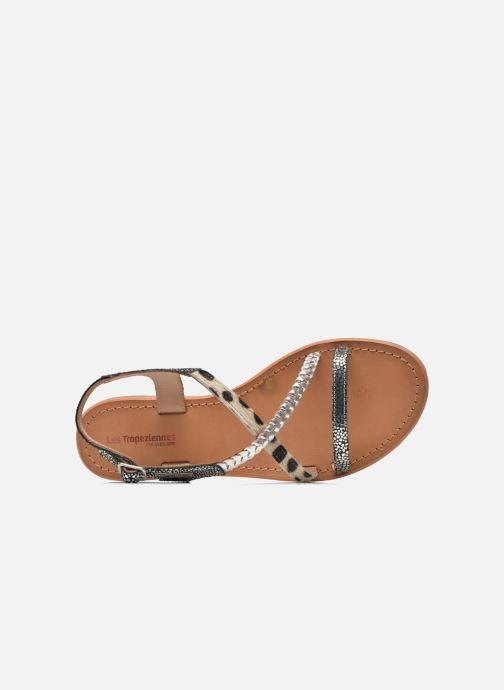 Sandals Les Tropéziennes par M Belarbi Horse Silver view from the left