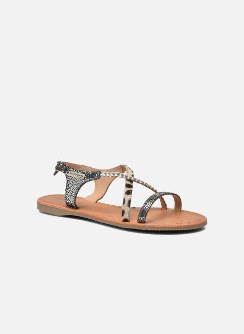 Sandals Les Tropéziennes par M Belarbi Horse Silver detailed view/ Pair view
