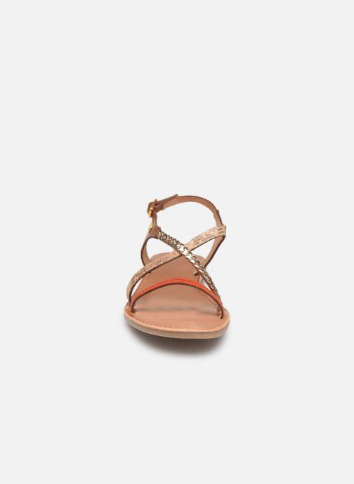Sandals Les Tropéziennes par M Belarbi Horse Orange model view