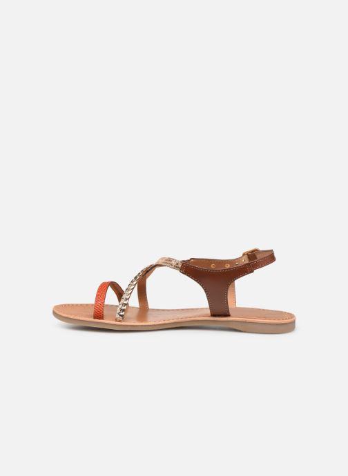 Sandals Les Tropéziennes par M Belarbi Horse Orange front view
