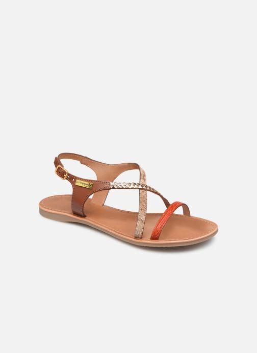 Sandals Les Tropéziennes par M Belarbi Horse Orange detailed view/ Pair view