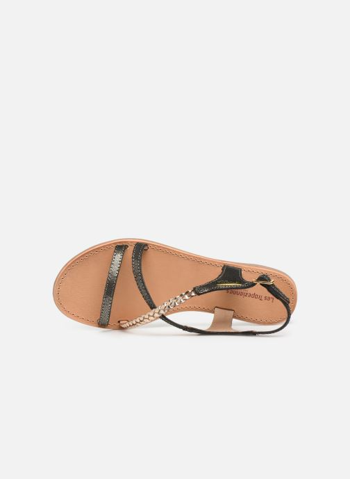 Sandales et nu-pieds Les Tropéziennes par M Belarbi Horse Noir vue gauche