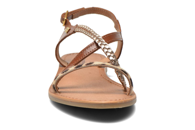 Sandali e scarpe aperte Les Tropéziennes par M Belarbi Horse Marrone modello indossato