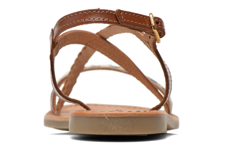 Sandali e scarpe aperte Les Tropéziennes par M Belarbi Horse Marrone immagine destra
