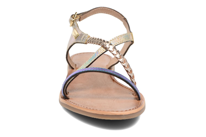Sandali e scarpe aperte Les Tropéziennes par M Belarbi Horse Argento modello indossato