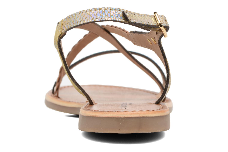Sandali e scarpe aperte Les Tropéziennes par M Belarbi Horse Argento immagine destra