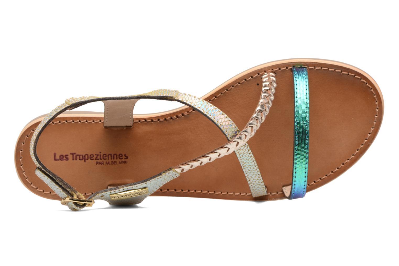 Sandali e scarpe aperte Les Tropéziennes par M Belarbi Horse Argento immagine sinistra