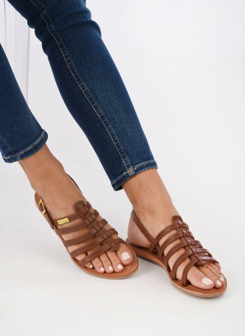 Sandals Les Tropéziennes par M Belarbi Havapo Brown view from underneath / model view