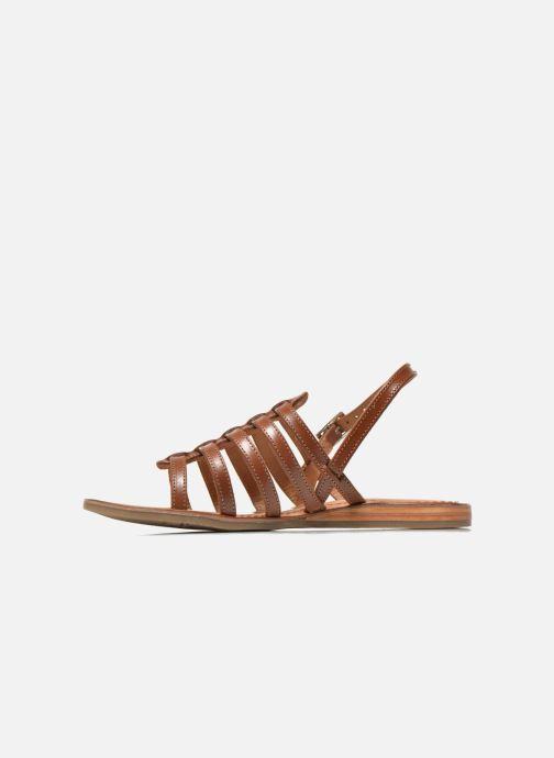 Sandals Les Tropéziennes par M Belarbi Havapo Brown front view