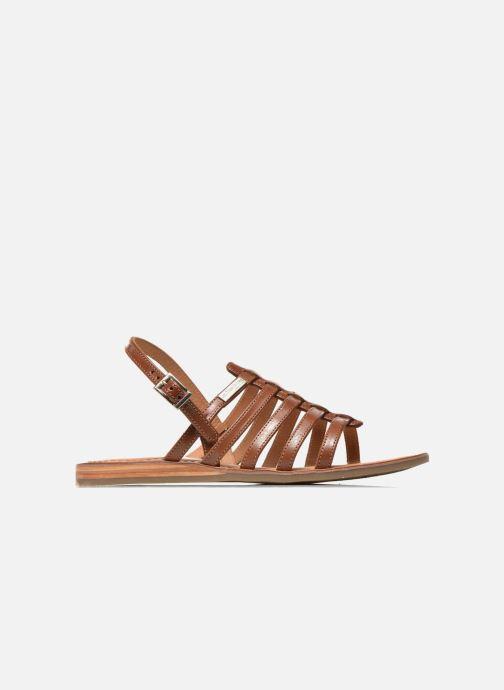 Sandales et nu-pieds Les Tropéziennes par M Belarbi Havapo Marron vue derrière