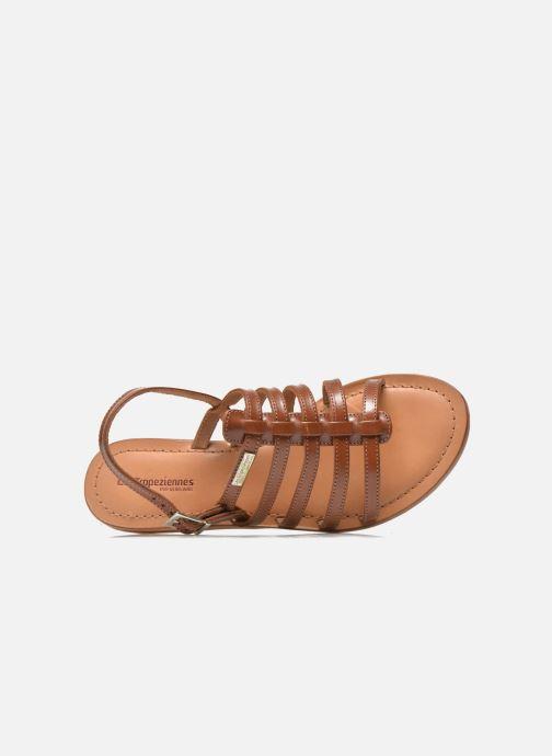 Sandales et nu-pieds Les Tropéziennes par M Belarbi Havapo Marron vue gauche