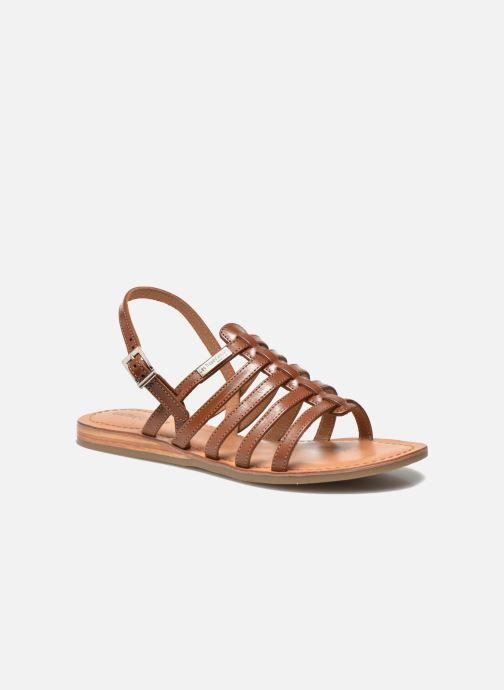 Sandales et nu-pieds Les Tropéziennes par M Belarbi Havapo Marron vue détail/paire