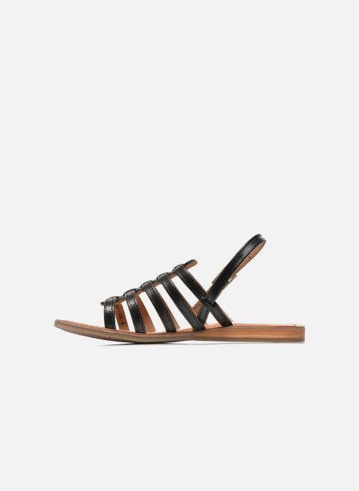Sandales et nu-pieds Les Tropéziennes par M Belarbi Havapo Noir vue face
