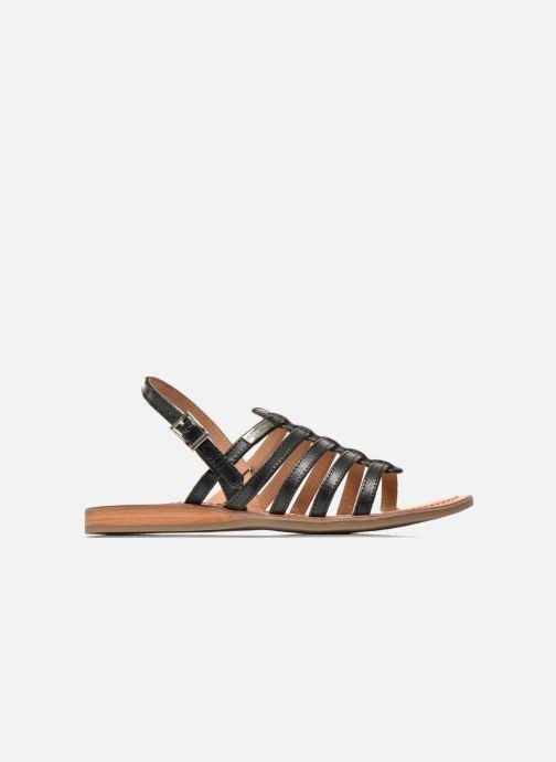 Sandales et nu-pieds Les Tropéziennes par M Belarbi Havapo Noir vue derrière