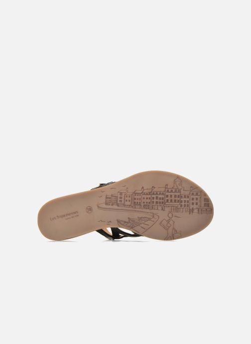 Sandales et nu-pieds Les Tropéziennes par M Belarbi Havapo Noir vue haut