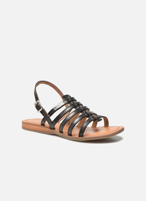 Sandales et nu-pieds Les Tropéziennes par M Belarbi Havapo Noir vue détail/paire