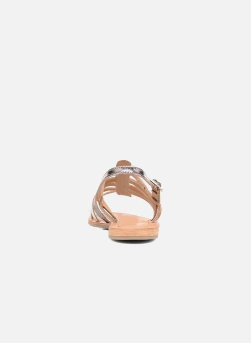 Sandales et nu-pieds Les Tropéziennes par M Belarbi Havapo Argent vue droite