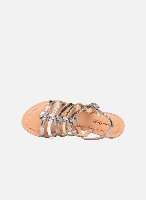 Sandales et nu-pieds Les Tropéziennes par M Belarbi Havapo Argent vue gauche