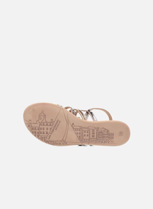 Sandali e scarpe aperte Les Tropéziennes par M Belarbi Havapo Argento immagine dall'alto