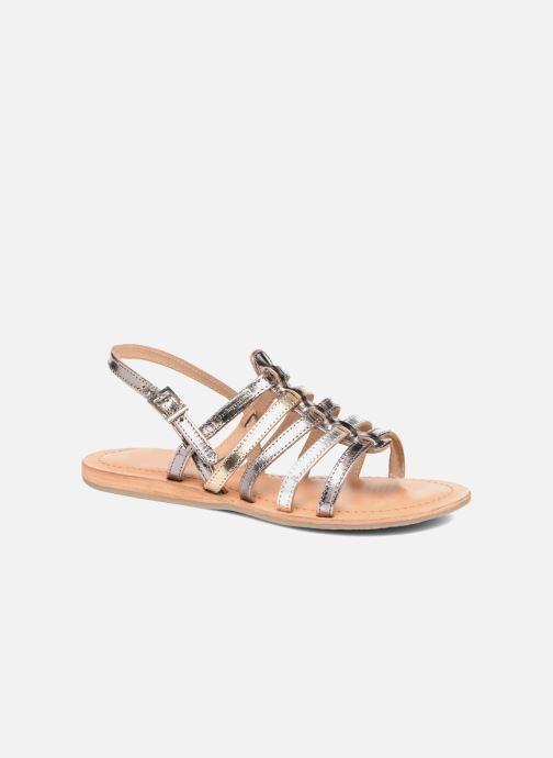 Sandals Les Tropéziennes par M Belarbi Havapo Silver detailed view/ Pair view