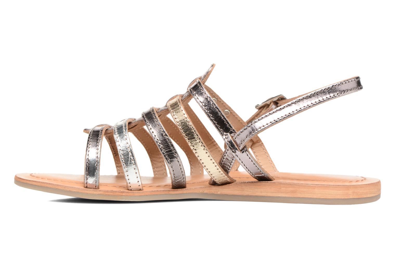 Sandales et nu-pieds Les Tropéziennes par M Belarbi Havapo Argent vue face
