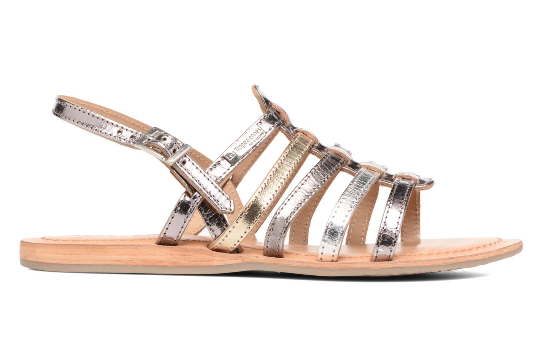 Sandales et nu-pieds Les Tropéziennes par M Belarbi Havapo Argent vue derrière