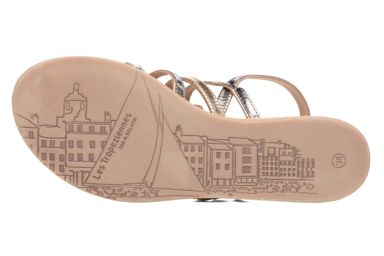 Sandales et nu-pieds Les Tropéziennes par M Belarbi Havapo Argent vue haut