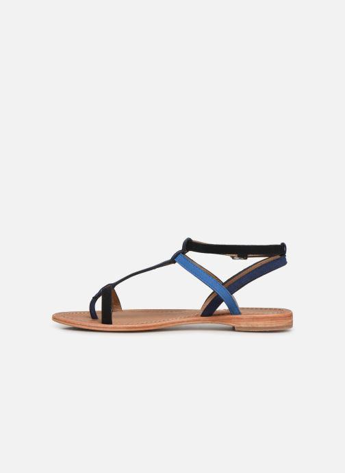 Sandales et nu-pieds Les Tropéziennes par M Belarbi Baie Noir vue face