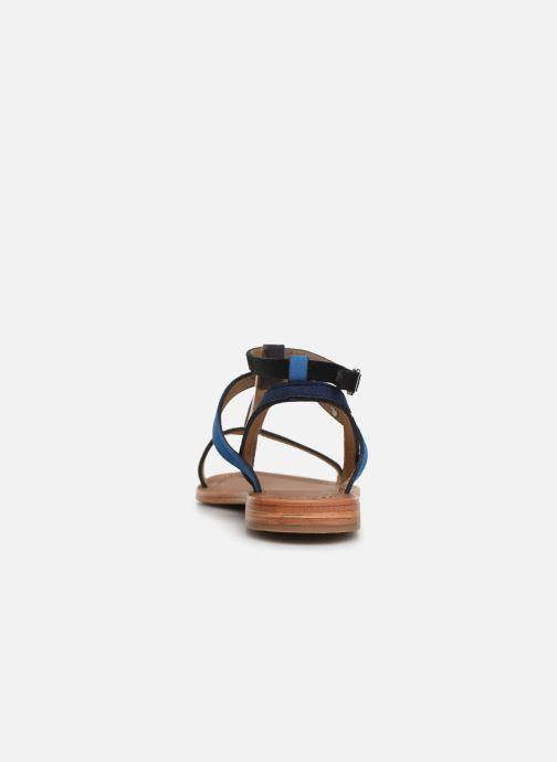 Sandales et nu-pieds Les Tropéziennes par M Belarbi Baie Noir vue droite