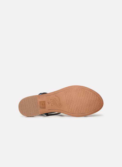 Sandales et nu-pieds Les Tropéziennes par M Belarbi Baie Noir vue haut