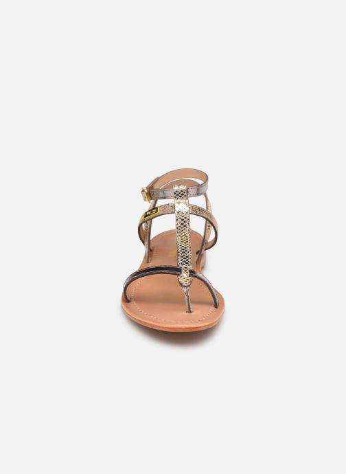 Sandales et nu-pieds Les Tropéziennes par M Belarbi Baie Beige vue portées chaussures